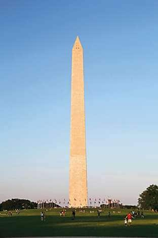 the Washington Monument on the National Mall