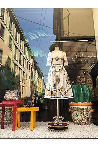 Summer style from Milan-based Dolce & Gabbana