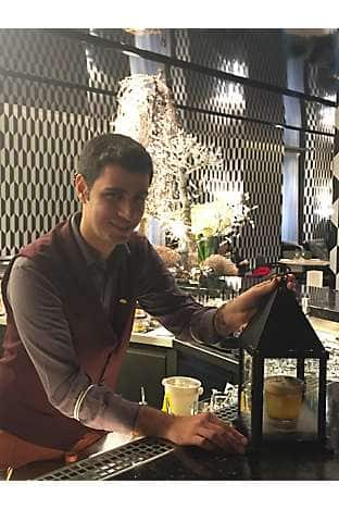 Ivan Patruno mixes the best cocktails at Mandarin Bar & Bistrot