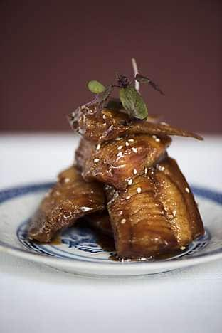 Crispy Pomfret and Sweet Soy