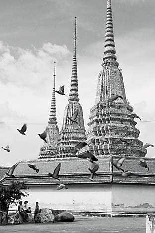 Chedis of the Four Kings at Wat Po, Bangkok