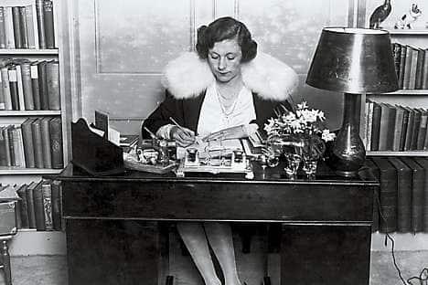 Barbara Cartland, 1928