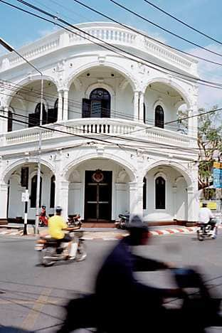 The Sino-Portuguese government building in Phuket Old Town