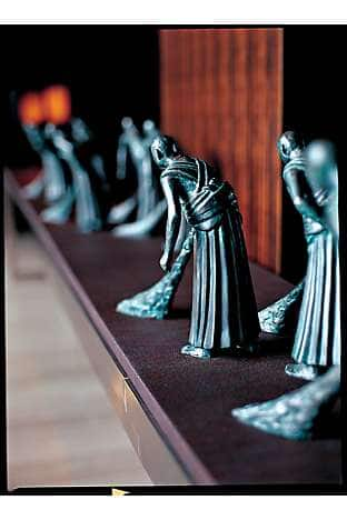 The Cleaners, a sculpture chosen to evoke the hotel's Sino roots
