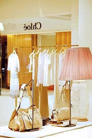Chloé's flagship store, in Mandarin Oriental, Hong Kong