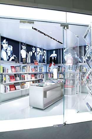 Armani/Libri, the bookshop
