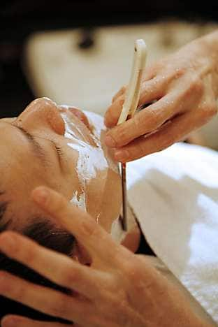 Classic wet-shave treatment by Mr James Lee