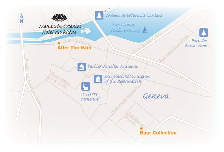 Map of Geneva