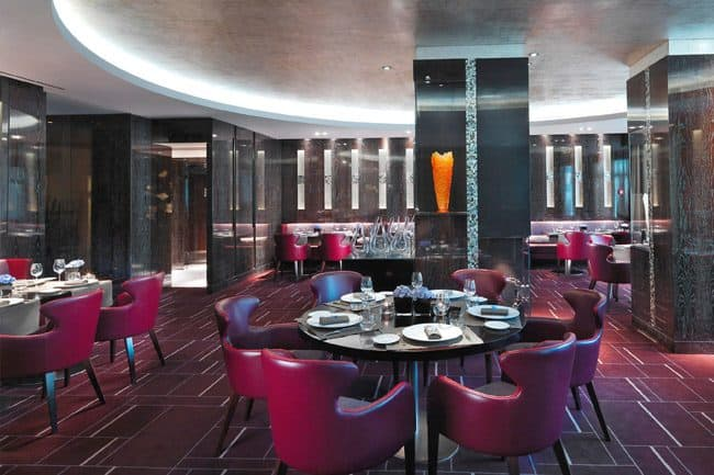 Rasoi by Vineet restaurant at Mandarin Oriental, Geneva