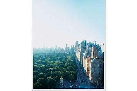 The view of Central Park from The Spa at Mandarin Oriental, New York