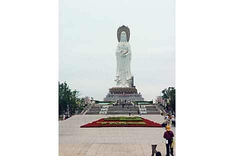 Guanyin, the world's tallest Goddess of Mercy