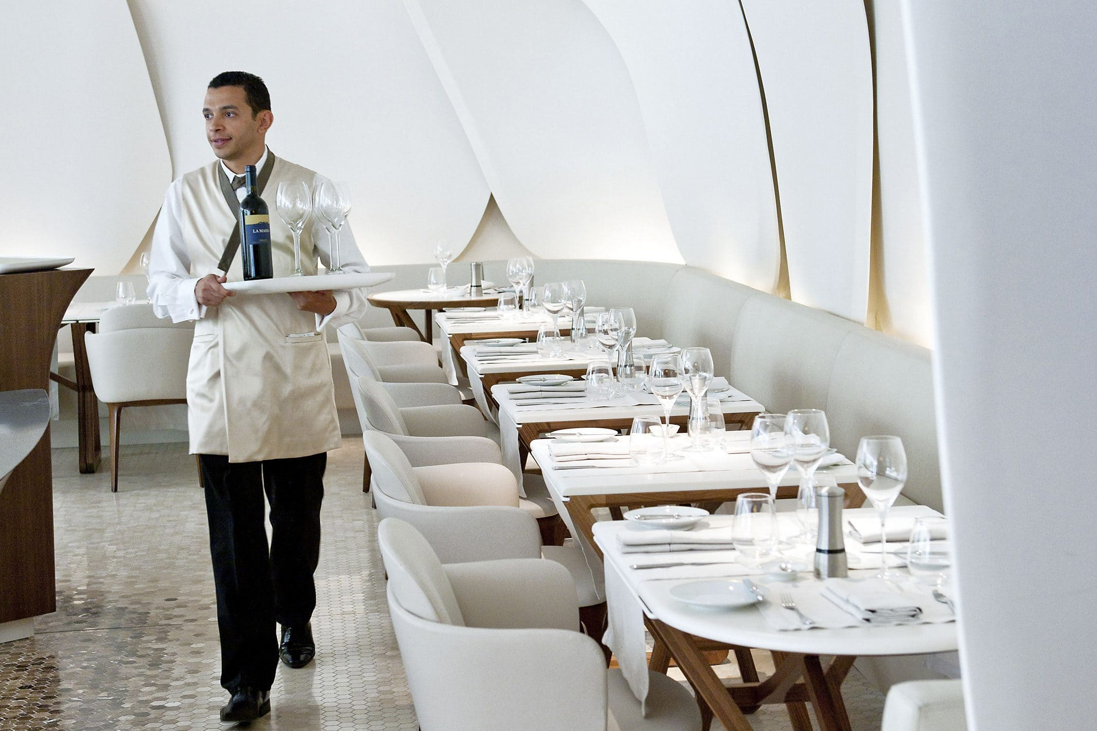 Camélia restaurant at Mandarin Oriental, Paris