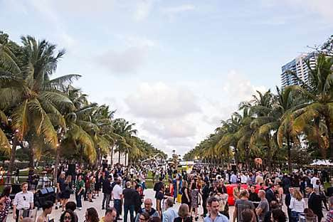 The art crowd at Art Basel Miami Beach