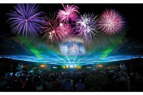 The Lasershow Spectacular at Stone Mountain Park