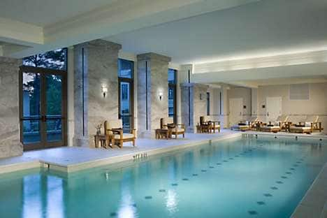 The pool at the Spa at Mandarin Oriental, Atlanta