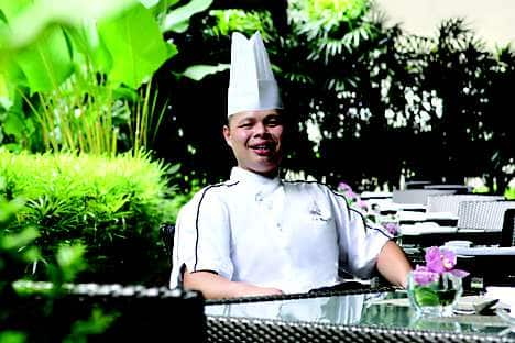 Eric Cheam, executive sous chef at Mandarin Oriental, Singapore