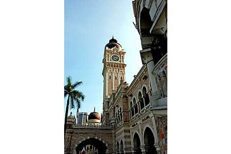 The Sultan Abdul Samad Building on Dataran Merdeka (Independence Square)