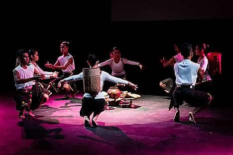 A dance troupe at the Kuala Lumpur Performing Arts Centre
