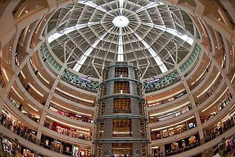 Suria KLCC shopping centre at Petronas Twin Towers