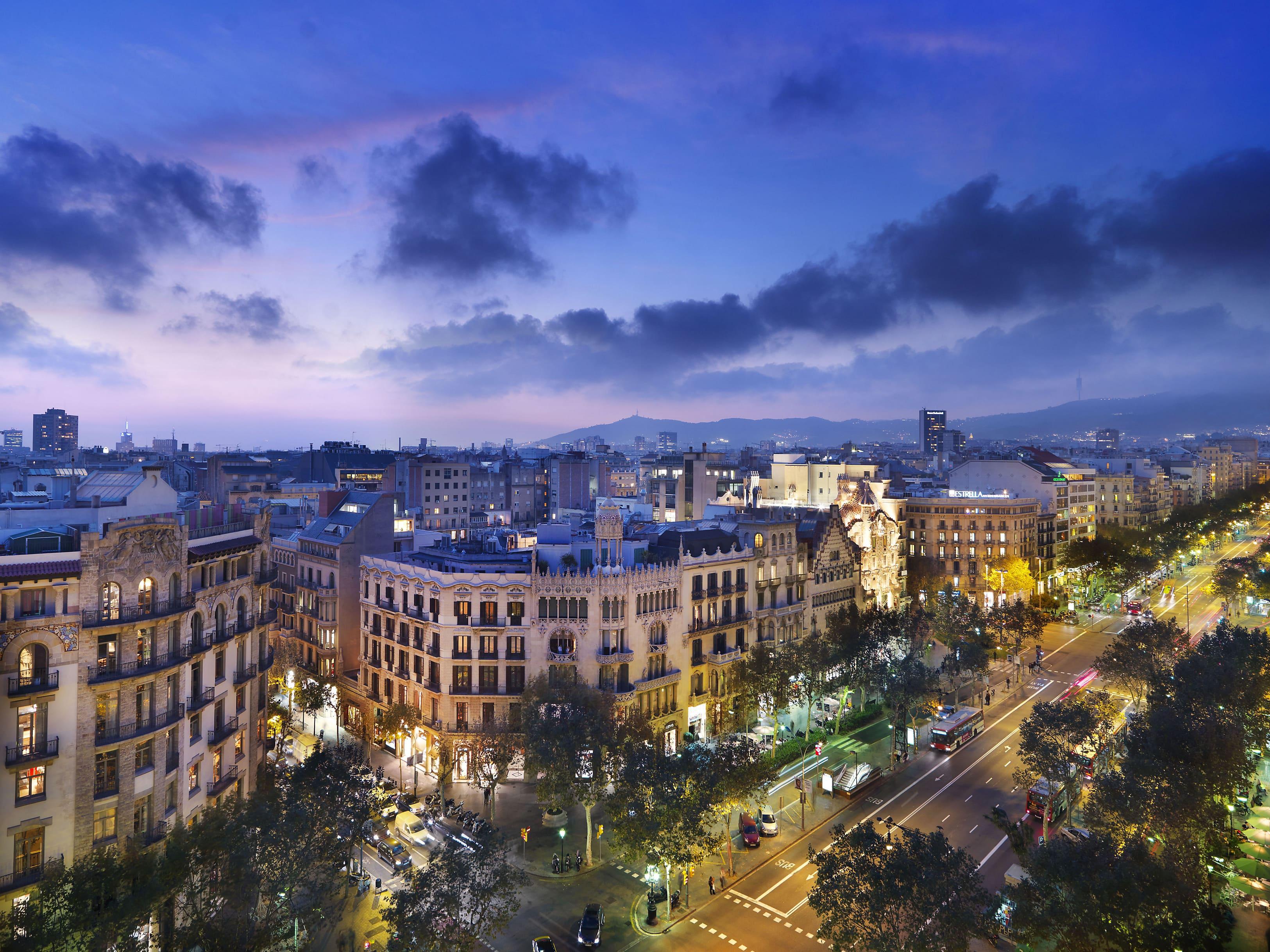 Barcelona hotel photo gallery mandarin oriental hotel for Hotel barcelone