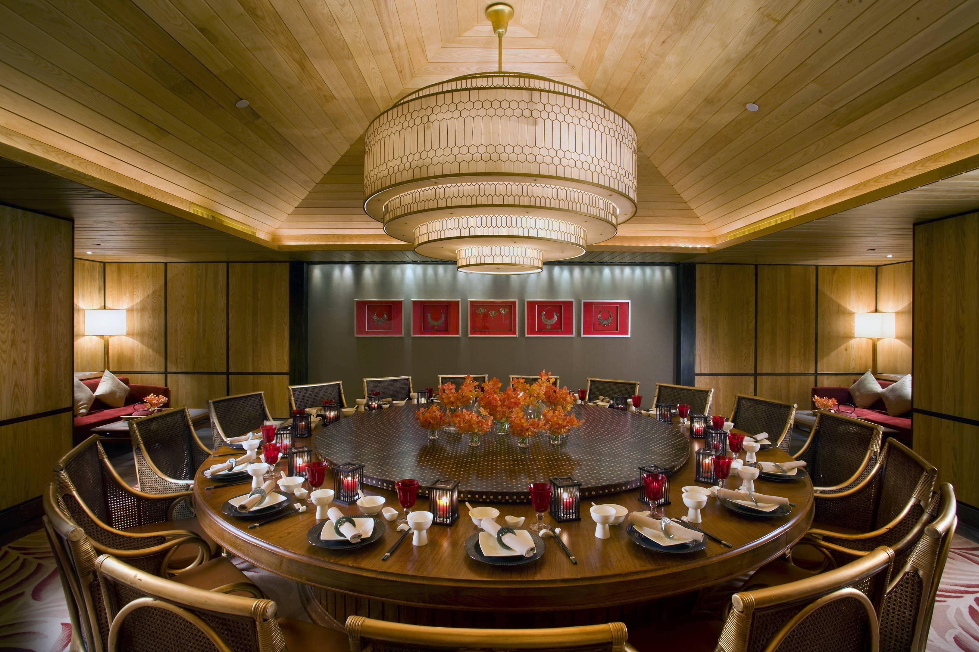 Sanya hotel photo gallery mandarin oriental sanya - Private dining room ...