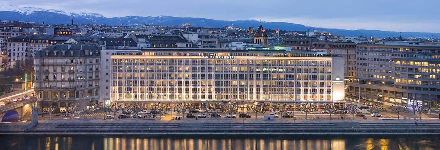 Luxury hotels geneva switzerland mandarin oriental geneva for Hotel meuble suisse genova