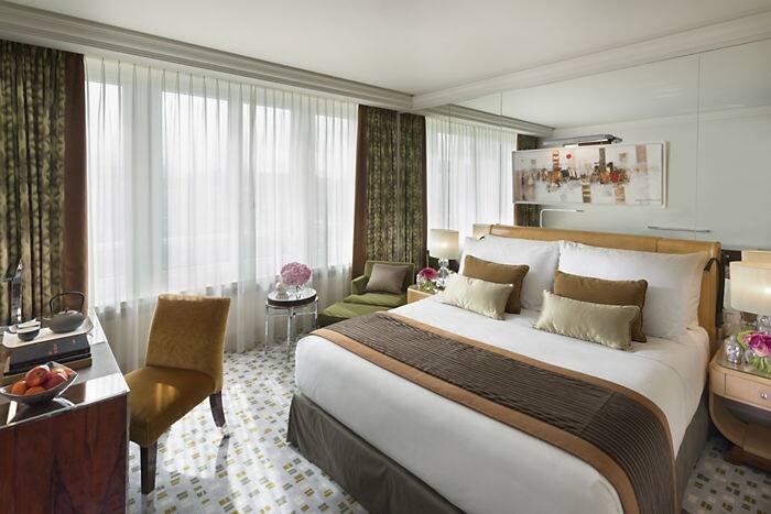 Superior room mandarin oriental hotel geneva for Chambre dhotel de luxe