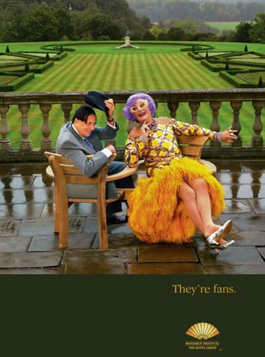 Barry Humphries 及 Dame Edna