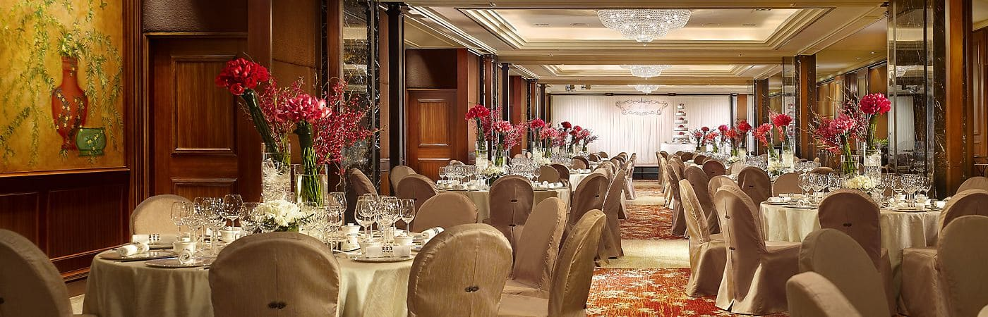 Mandarin Oriental, Hong Kong's prestigious hotel meeting and wedding venues are ideal for every occasion.