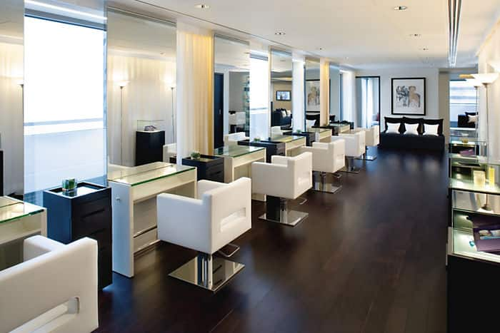 Cuisine Blanche Avec Parquet : Modern Hair Salon Interior Design Ideas » modern hair salon interior