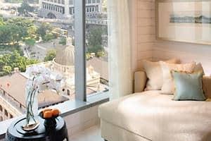 Dormitorio estilo galería