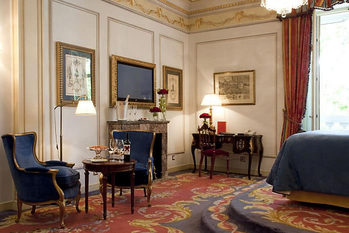 Suite pr sidentielle de luxe h tel ritz madrid for Belle chambre atlanta ga