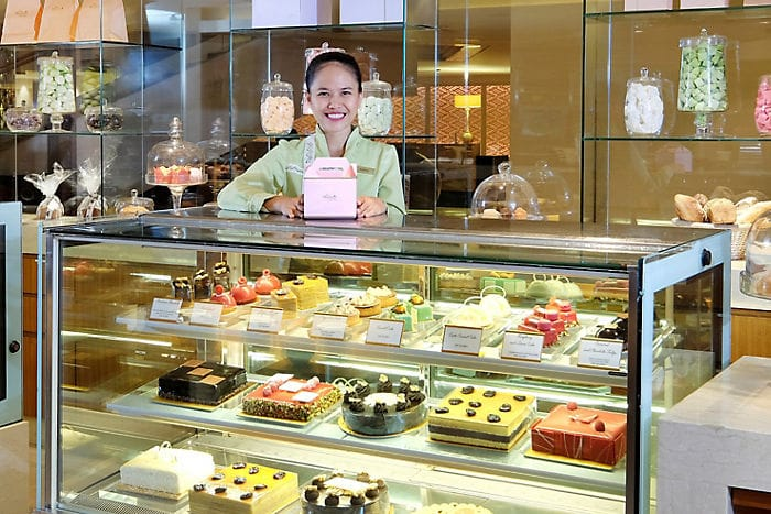 Mandarin Oriental Cake Shop Indonesia