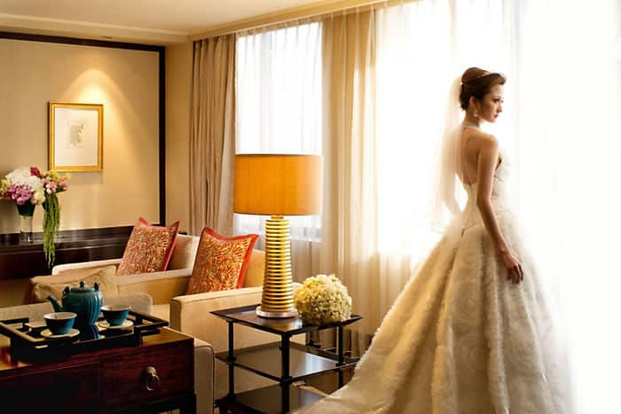 Suite with Bride