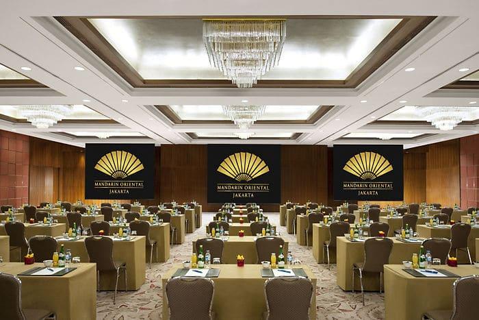 Jakarta Meeting Facilities Mandarin Oriental Hotel Jakarta