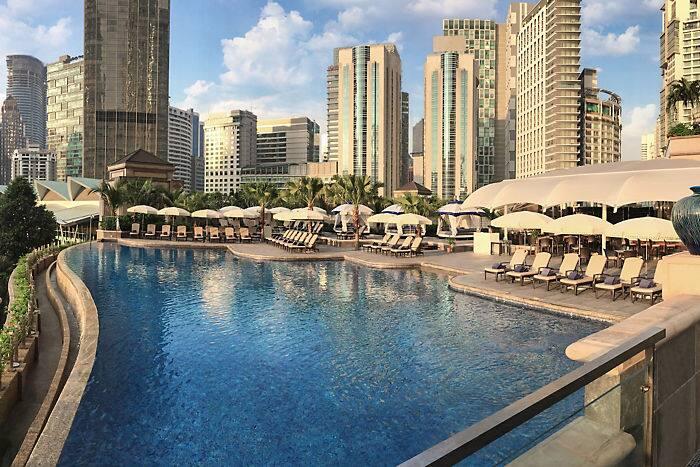 Leisure activities mandarin oriental hotel kuala lumpur - Piccolo hotel kuala lumpur swimming pool ...