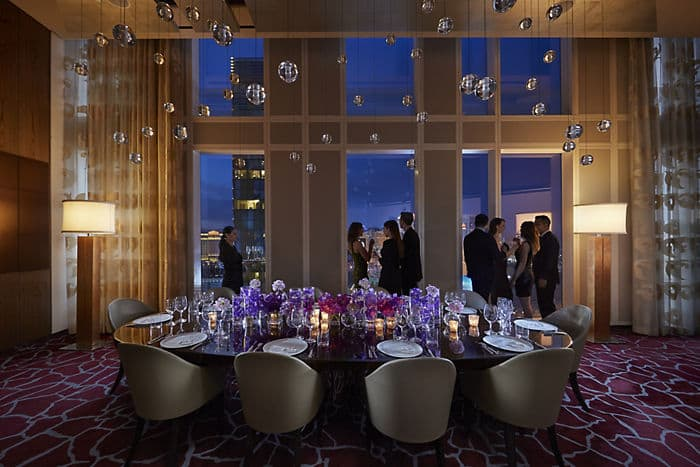 private dining mandarin oriental hotel las vegas - Private Dining Rooms Las Vegas