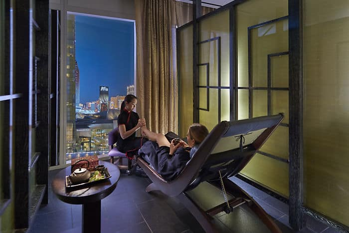 5 star luxury spa overview mandarin oriental las vegas. Black Bedroom Furniture Sets. Home Design Ideas