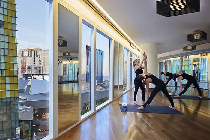 Las Vegas Fitness Amp Yoga Mandarin Oriental Las Vegas