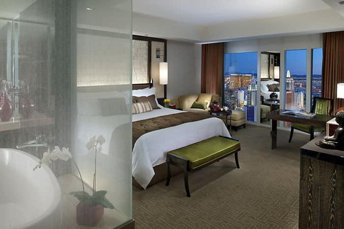 5 Star Cityscape Hotel Room Mandarin Oriental Las Vegas