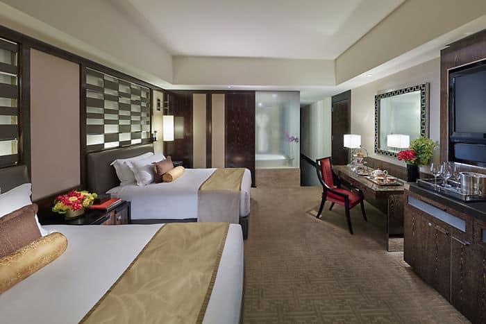 Las Vegas Strip Hotel Room Mandarin Oriental Las Vegas