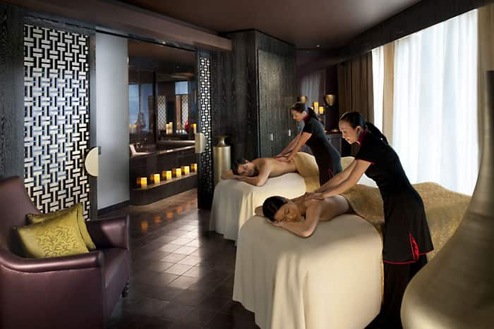 Mandarin Oriental, Las Vegas' luxury spa offers re-invigorating spa treatments.