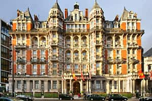 Mandarin Oriental, Hyde Park in London is a luxury hotel offering timeless elegance and immaculate style.