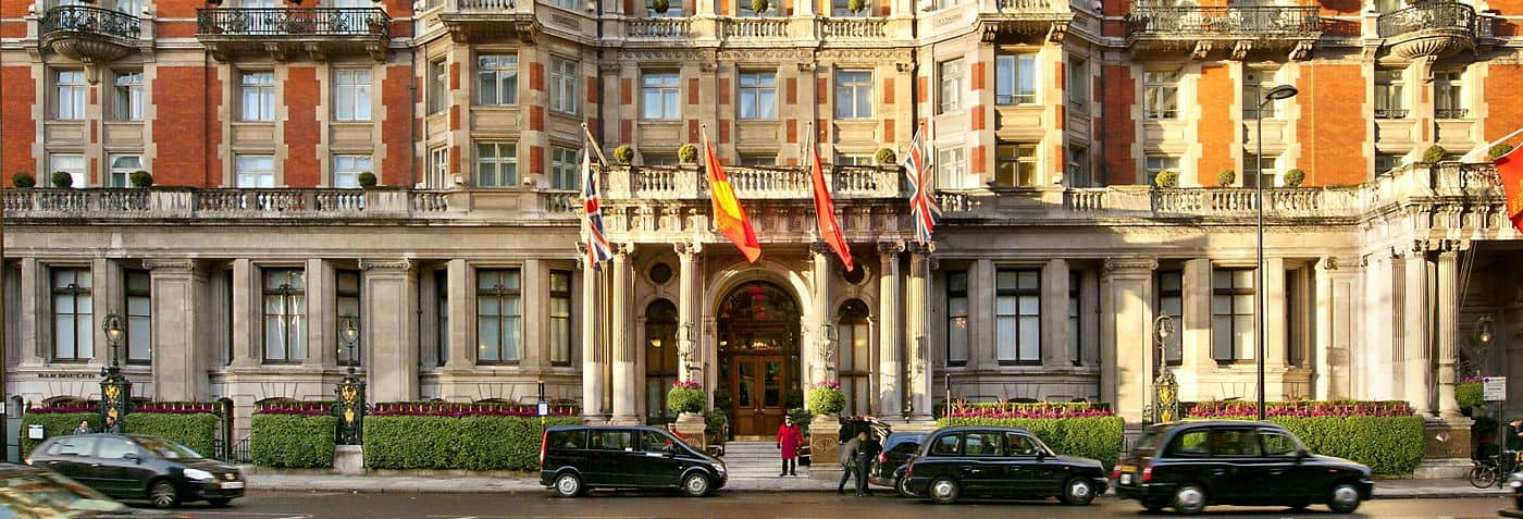 Mandarin Oriental Hotel Spa In Hyde Park London