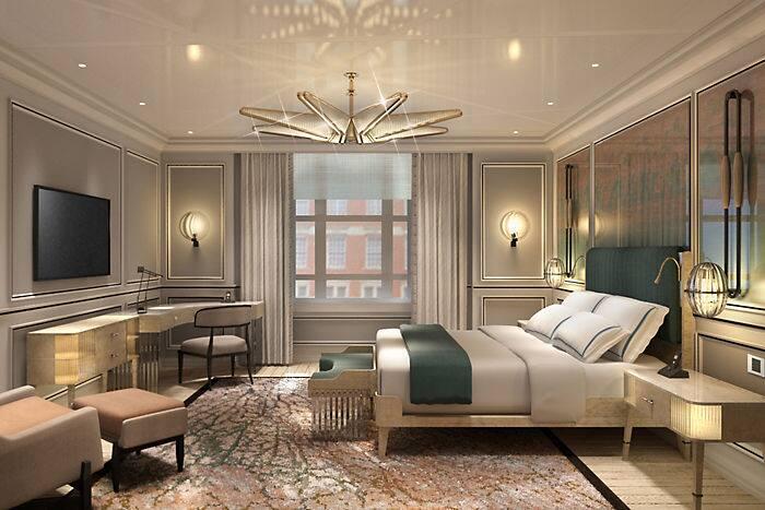 Deluxe Room Mandarin Oriental Hotel London