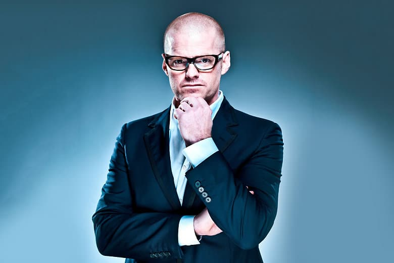 Chef Heston Blumenthal (Neale Haynes Copyright)