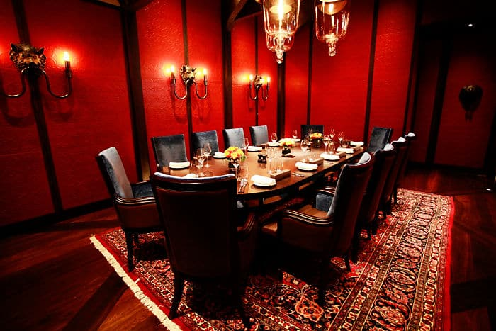Dinner Private Dining Room