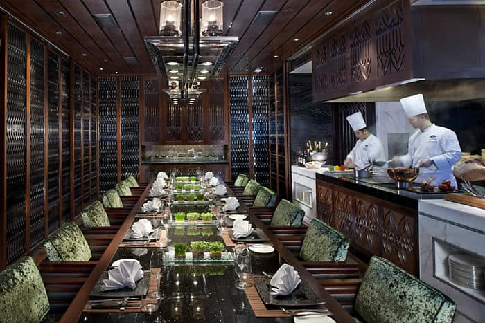 Vida Rica Restaurant Mandarin Oriental Hotel Macau