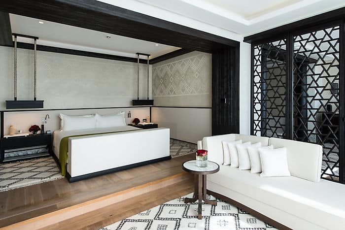 Suite penthouse h tel 5 toiles mandarin oriental for Hotels 5 etoiles marrakech