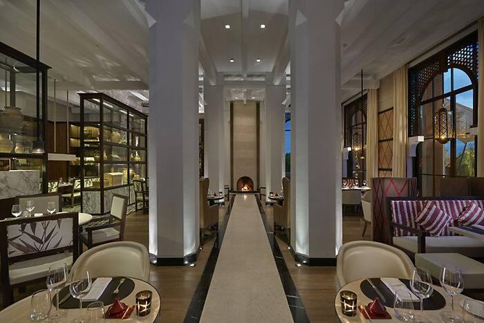 Fusion restaurant mandarin oriental hotel marrakech - Hotel mandarin restaurante ...